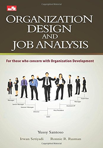 9786020213590: Organization Design And Job Analysis (Indonesian Edition)