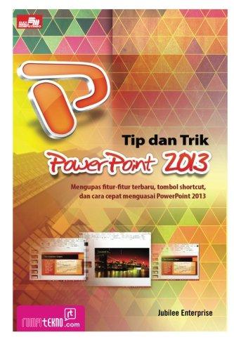 9786020223377: Tip dan Trik PowerPoint 2013 (Indonesian Edition)