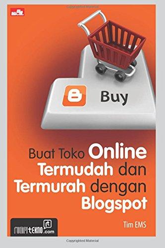 9786020224954: Buat Toko Online Termudah dan Termurah dengan Blogspot (Indonesian Edition)