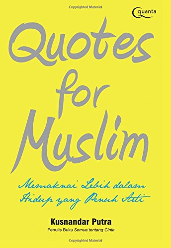9786020276854: Quotes for Muslim (Indonesian Edition)