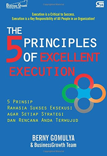 9786020323664: The 5 Principles of Excellent Execution (Indonesian Edition)