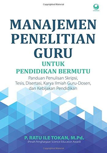 9786023753970: Manajemen Penelitian Guru (Indonesian Edition)