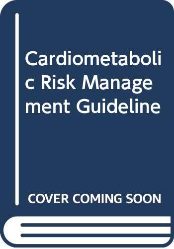 9786030069576: Cardiometabolic Risk Management Guideline
