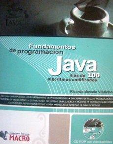 9786034034013: JAVA FUNDAMENTOS DE PROGRAMACION MAS DE 100 ALGORITMOS CODIFICAD