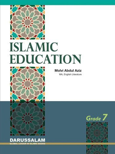 9786035000321: Islamic Education: Grade 7