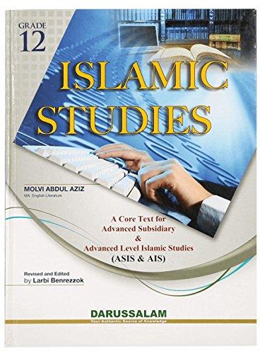 Islamic Studies (Grade 12): MOLVI ABDUL AZIZ
