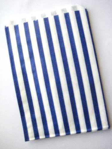 9786040295453: 350Candy Stripe–Cake favor fiesta BUFFET Sweet bolsa 5x 7Inch Lucky Dip bolsas de papel–elige tu color