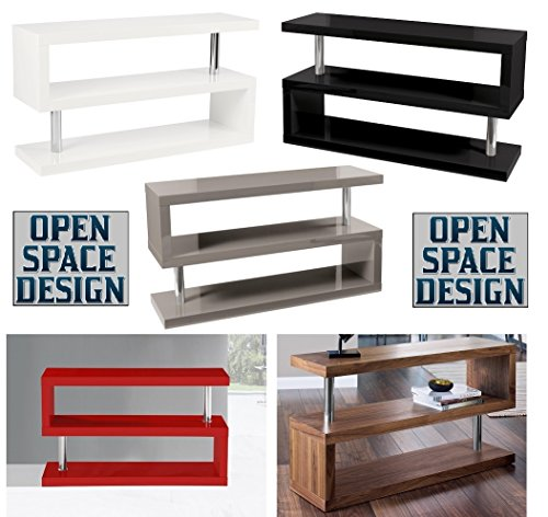 9786040317537: FREE DELIVERY;;DESIGNER ELEGANCE SQUARE WHITE,BLACK,WALNUT,RED AND GREY TV STANDS/STORAGE UNITS!!!!! (Walnut)