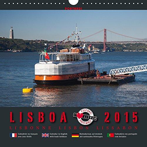 9786041286078: Lisboa 2015 - Lissabon 2015: Foto-Kalender mit Bildern aus Lissabon