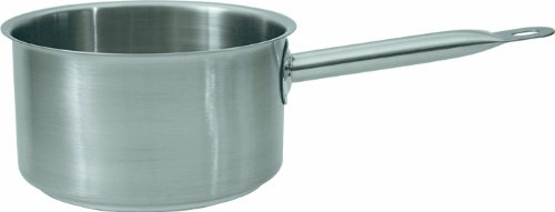 9786041303164: High Saucepan with Pouring Rim Casserole Pot Diameter 18 CM / 12 CM High 3.0 Litre Capacity / chrome Nickel steel