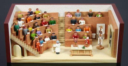 9786041360174: Auditorio sala Miniatura habitación miniatura Seiffen Erzgebirge DECORACIÓN NUEVO 30/73