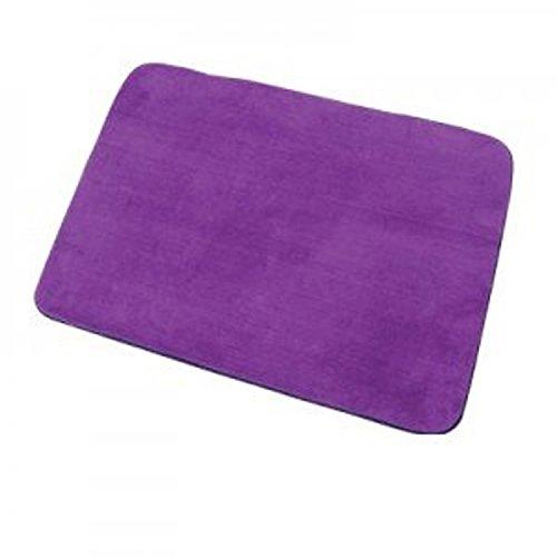 9786041575103: 50 x 70 cm Extra Large Memory Foam Bath Mat Anti Slip Luxury 100% Polyester