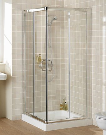 9786041621435: 760 x760 x1750mm Reduced Height Corner Shower Enclosure