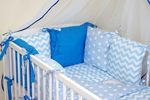 9786042157957: Baby's Comfort Tour de lit 6 coussins 35x210cm (27 couleurs) (8)