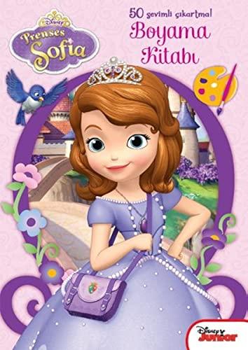 9786050916614: Disney Prenses Sofia - Cikartmali Boyama Kitabi