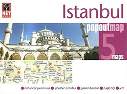 9786051240268: Istanbul Popout Map (5 Maps)