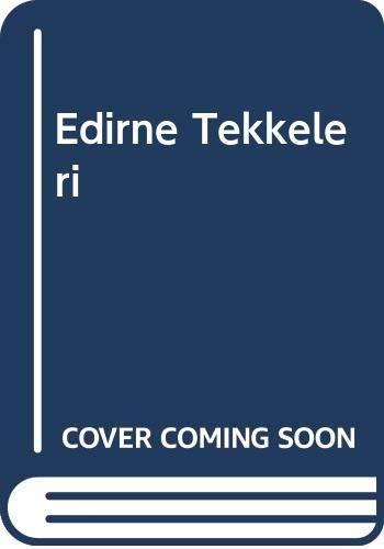 9786053599876: Edirne Tekkeleri