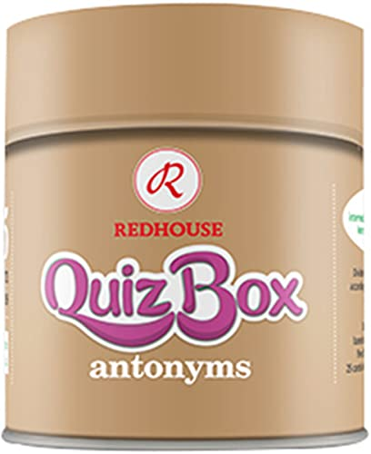9786054119523: Redhouse Quiz Box - Antonyms