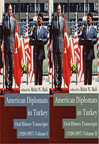 9786054326341: American Diplomats in Turkey: Oral History Transcripts (1928-1997)