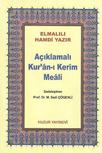9786054606047: Canta Boy Aciklamali Kur'an-i Kerim Meali (Metinsiz)