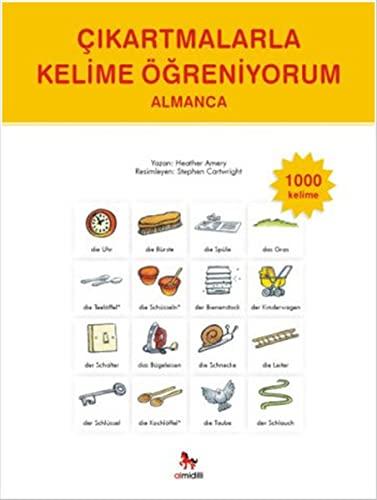 9786054984015: Çikartmalarla Kelime Ögreniyorum Almanca - 1000 Kelime