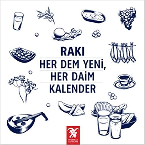 9786055058029: Raki, Her Dem Yeni, Her Daim Kalender