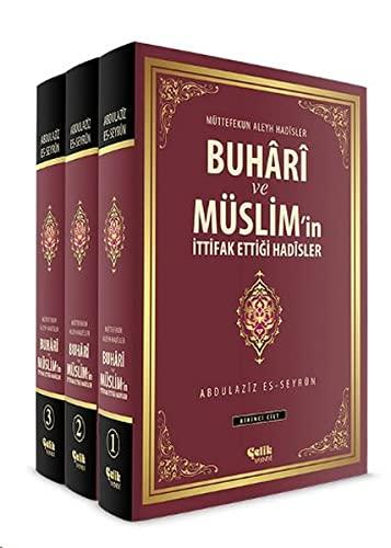 9786055094157: Buhari ve Muslim'in Ittifak Ettigi Hadisler (3 Cilt Takim)