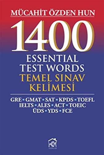 9786055295202: 1400 Essential Test Words Temel Sinav Kelimesi