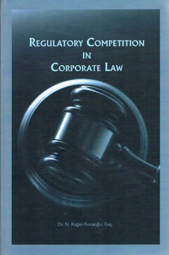 9786055614713: Regulatory Competition in Corporate Law