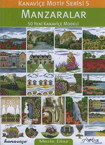 9786055647407: Cross Stitch Motif Series 5: Landscapes: 50 New Cross Stitch Models