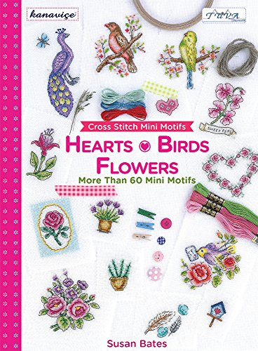 9786055647582: Cross Stitch Mini Motifs: Hearts, Birds, Flowers: More Than 60 Mini Motifs