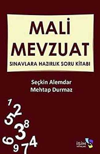 9786056150173: Mali Mevzuat - Sinavlara Hazirlik Soru Kitabi
