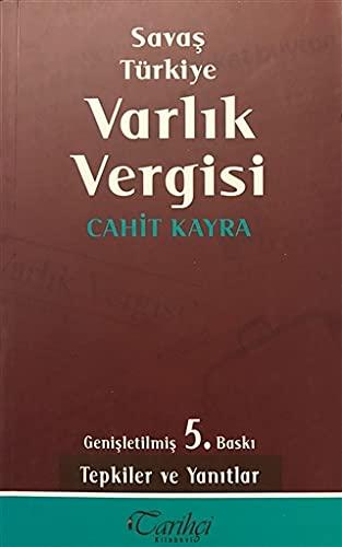 9786056153341: Savas Turkiye Varlik Vergisi