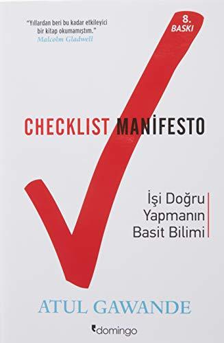 9786056180118: Checklist Manifesto-isler Nasil Dogru Yapilir