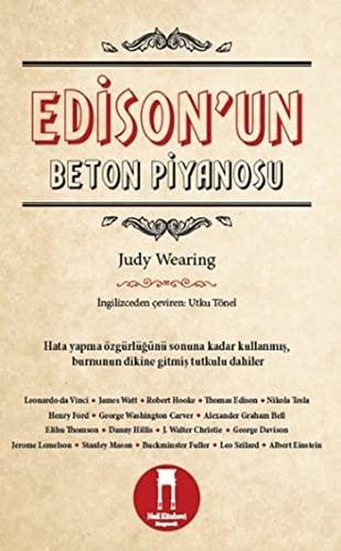 9786058551534: Edison'un Beton Piyanosu