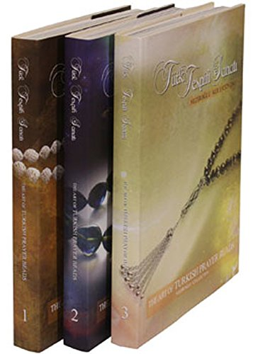 Türk Tespih Sanati - The Art of Turkish Prayer Beads - 3 Vols in box: Neziroglu, Berat Serdar