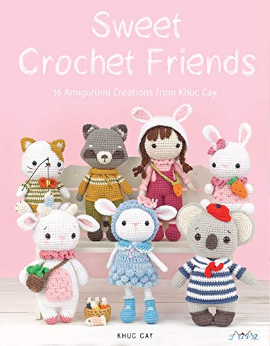 9786059192705: Sweet Crochet Friends: 16 Amigurumi Creations from Khuc Cay