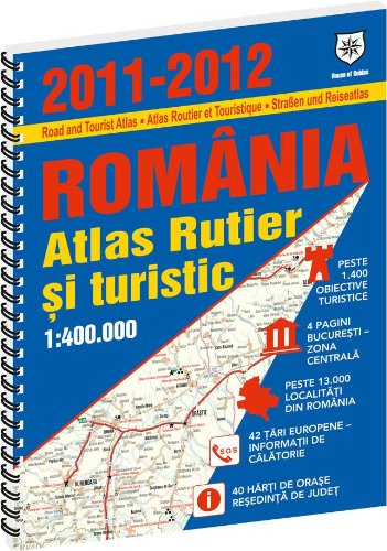 9786065131897: Romania atlas rutier si turistic 2011-2012