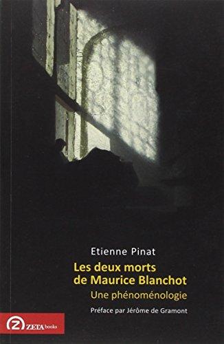 9786068266626: Les Deux Morts De Maurice Blanchot Une P