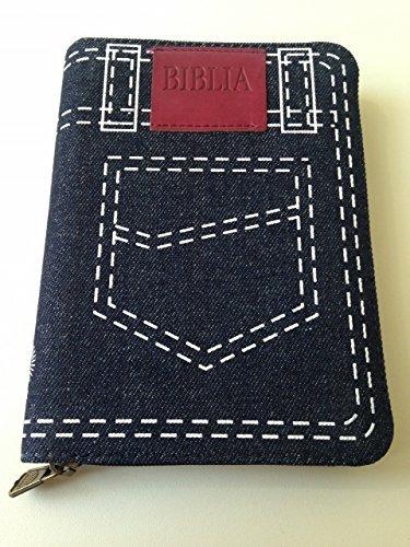 9786068279138: Romanian Bible - Denim Cover with Zipper / Biblia sau Sfanta Scriptura - Editie Revizuita / Protestant Cornilescu Version - Revised Edition / Reference Notes