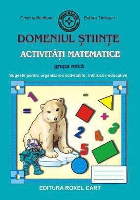 9786068383088: Domeniul Stiinte - Activitati Matematice, Grupa mica
