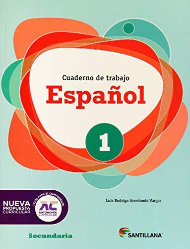 9786070112065: Español 1. Cuaderno de trabajo Secundaria ED12