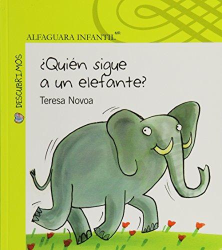 9786070115615: ¿Quién sigue a un elefante? (Descubrimos) (Spanish Edition)