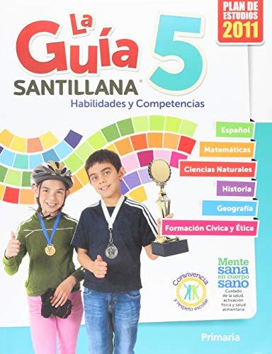 9786070116193: La Guía Santillana 5 Libro del alumno