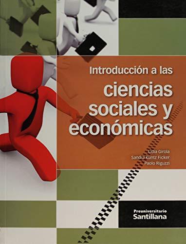 9786070117268: INTRODUCCION A LAS CIENCIAS SOCIALES Y ECONOMICAS. BACHILLERATO