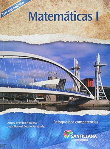 9786070125638: MATEMATICAS I ENFOQUE POR COMPETENCIAS. BACHILLERATO / 3 ED.
