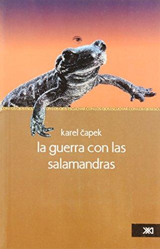 9786070300516: la guerra con las salamandras