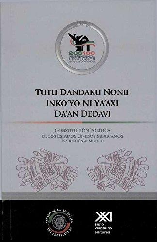 Tutu Dandaku Nonii Inkoýo Ni Ya'axi Da'an: Ocampo, Lorenzo Hernandez