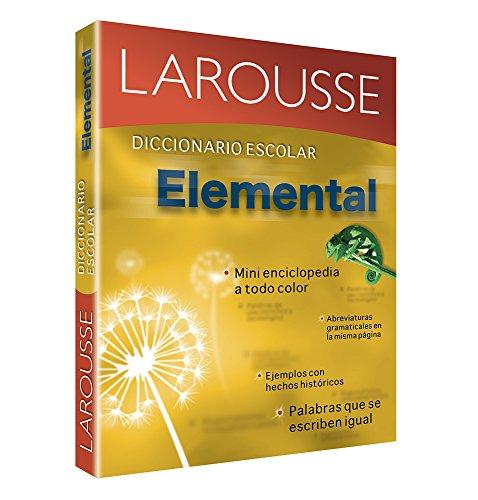 9786070400414: Diccionario Escolar Elemental: Larousse Elementary School Dictionary (Spanish Edition)