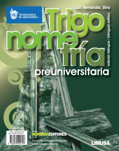 Trigonometria preuniversitaria / Pre-college trigonometry (Spanish Edition): Lazo, Adriana